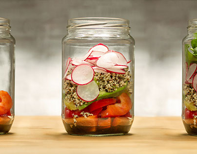 Case Study: Lighting for food in jars