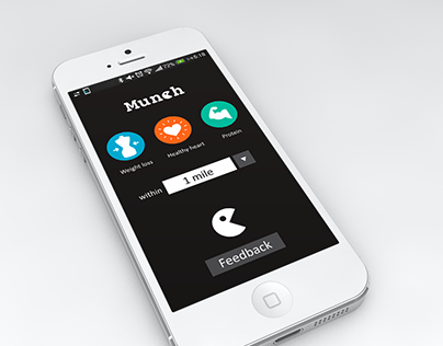 Munch restaurant search app