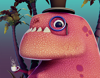 """Tea Pot Rex """"Original Concept"""""""