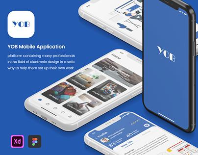 YOB - freelancing Mobile app