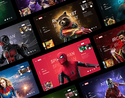Avengers UI