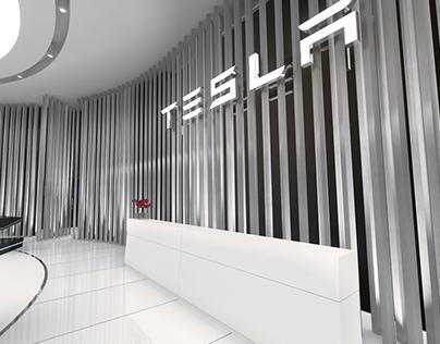 Tesla Global Motor Show Conceptual Design