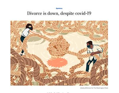 Divorce is Down, Despite Covid-19