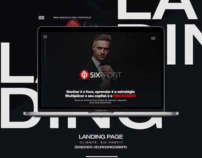 Landing Page - Six Profit