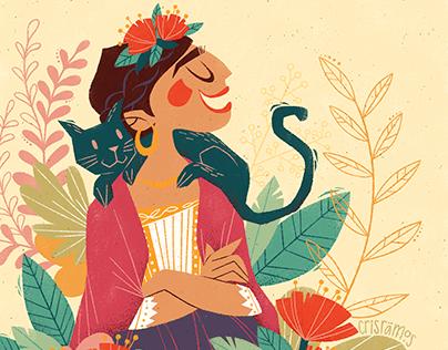 Frida into the nature