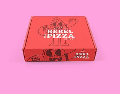 Rebel Pizza Packaging