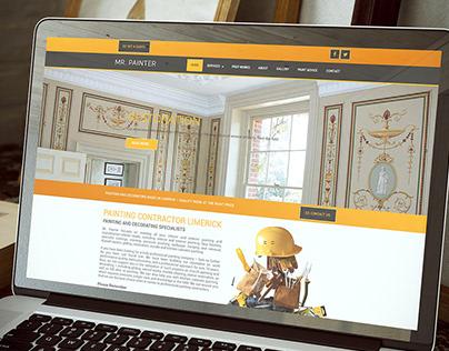 WordPress Development and Design for MrPainter.ie