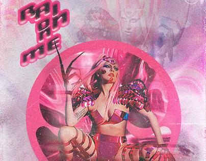 Rain On Me (Poster) | #LadyGagaxAdobe #adobe