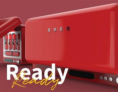 READY -Horizontal Miniature Refrigerator