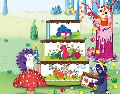 Children Board Game illustration