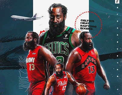 "James Harden ""On The Move"" Graphic"