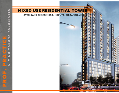 MIXED USE RESIDENTIAL TOWER | MAPUTO | AVA