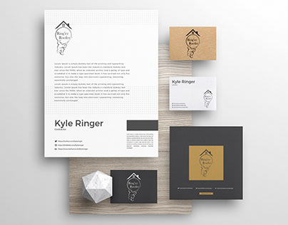 Brand identity - roofing contractor