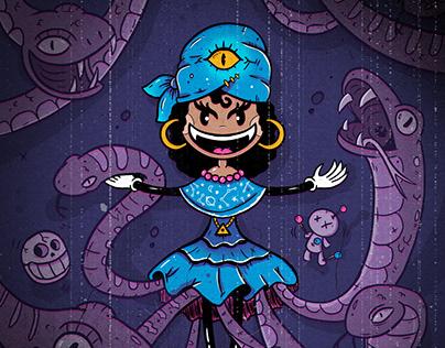 Weird Tales - oldschool illustrations