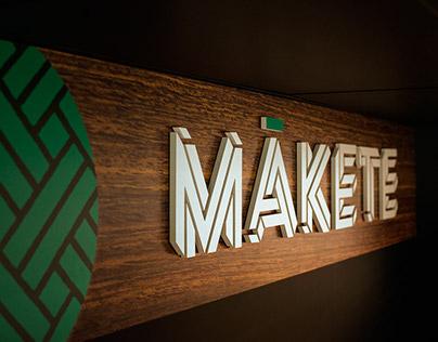 Mākete - Retail branding and signage design