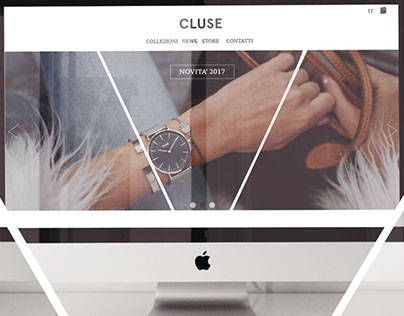 CLUSE // Restyling landing web page