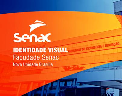 Identidade Visual Faculdade Senac DF