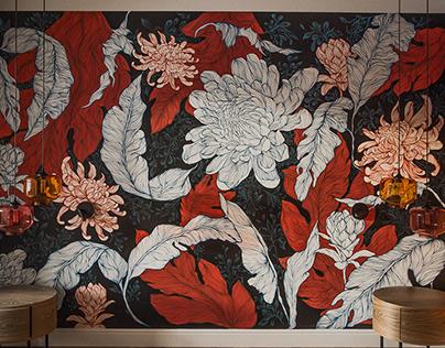 Secret Garden. mural