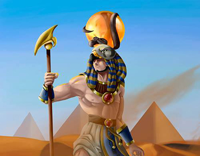 Dios egipcio RA