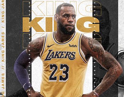 LeBron James Fan Made Poster Design | King James
