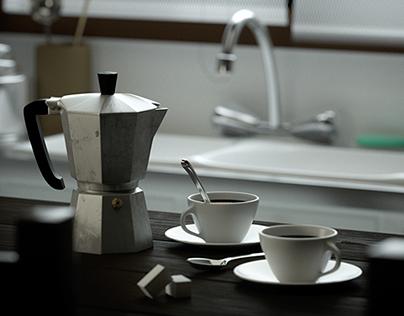 Shower Coffee