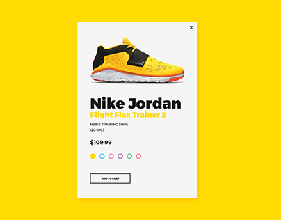 Add to Cart Modal and Widget Design