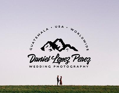 Daniel Lopez Perez Wedding Photography Identity Design
