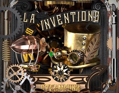La Inventions! Steampunk travel the world.