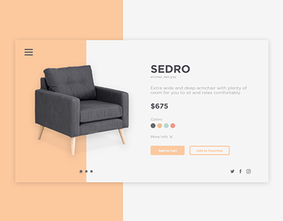Daily UI #012 | E-Commerce Shop (Single Item)