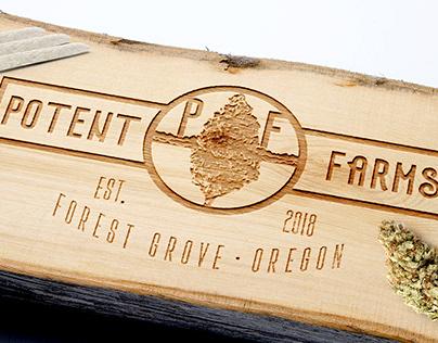 POTENT FARMS | Branding & Identity, Graphic Design