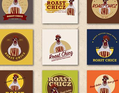 Roast Chicz - Logo Design