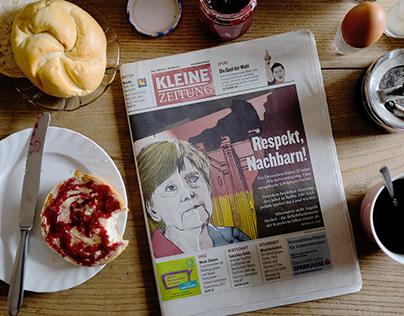 """BigDraw """"Kleine Zeitung"""" (Cover:J.Vogeltanz&G.Hartwig)"""