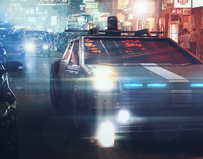 Hong Kong Cyberpunk