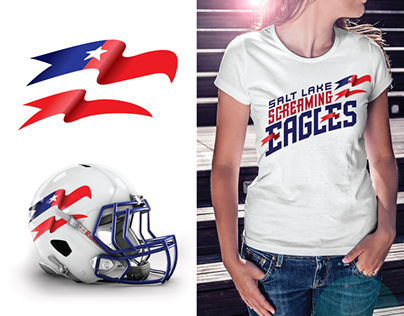 Ed's entry for the Screaming Eagles logo contest.