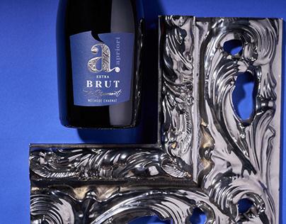 Sparkling Wine Label Redesign - Apriori Brut