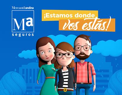 Mercantil Andina | Estamos donde vos estás