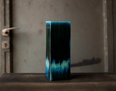 Vaza kao kvadar /// Vase as a cuboid