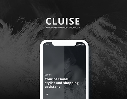 UX/UI. Cluise App. AI-powered shopping assistent.