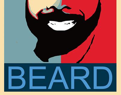 Beard Hope Poster