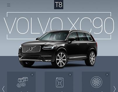 Volvo XC90: Website