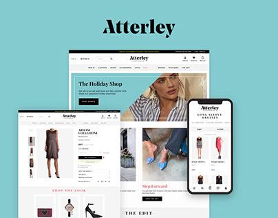 Atterley - E-commerce Website for Fashion Retailer