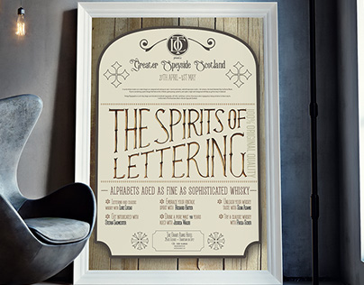THE SPIRITS OF LETTERING