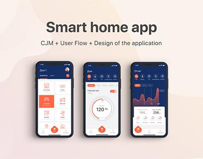 Smart home app / UI UX Design