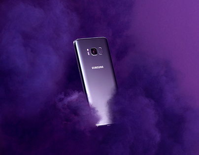 Galaxy S8+ Orchid Grey