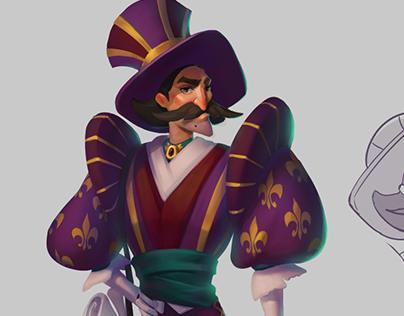 Magician stylization