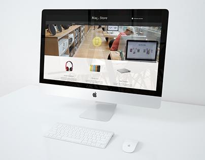 Macstore Web Design
