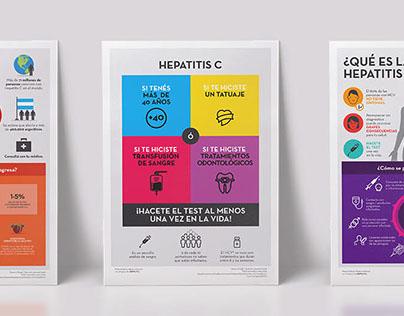 Campaña contra la Hepatitis C - Posters para Abbvie