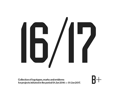 Logotypes & Marks 2016 — 2017