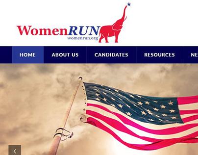 WomenRun - Website