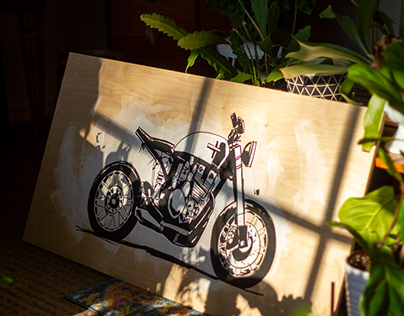 Plywood Paintings